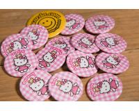 Κονκάρδες παιδικού πάρτυ Hello Kitty