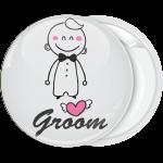 Κονκάρδα γάμου Groom Cartoon