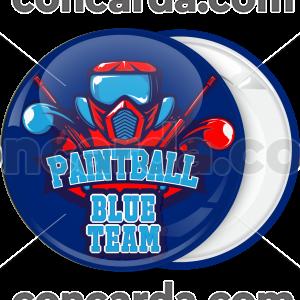 Κονκάρδα Paintball BlueTeam mask