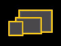 Κονκάρδες τετράγωνες ορθογώνιες μαγνήτης
