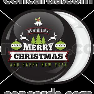 Κονκάρδα Merry Christmas bells and balls