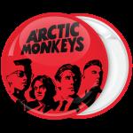 Κονκάρδα Arctic Monkeys faces κόκκινη