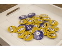Κονκάρδες παιδικού πάρτυ Minions