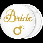 Kονκάρδα Bride Gold Glitter μονόπτερο