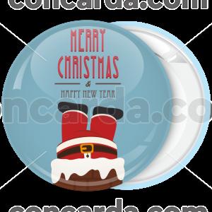 Κονκάρδα Χριστουγέννων Santa Fireplace