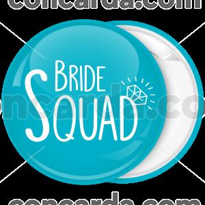Kονκάρδα Bride Squad διαμάντι τιρκουαζ