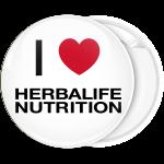 Κονκάρδα I Love Herbalife Nutrition λευκή