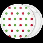 Κονκάρδα Χριστουγεννιάτικη μπάλα Polka Dots
