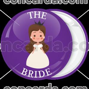 Kονκάρδα bachelor The Bride Billy μωβ
