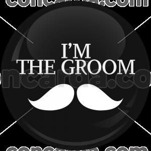 Κονκάρδα γάμου I am the groom