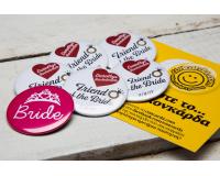 Κονκάρδες  bachelorette Team Bride