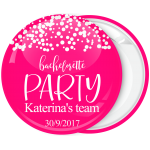 Kονκάρδα Bachelorette party Team λευκά πουά
