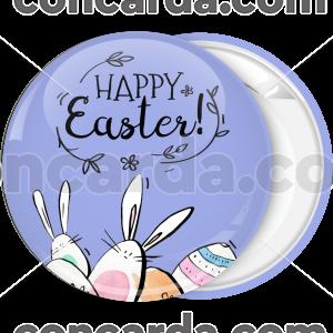 Κονκάρδα Happy Easter λαγουδάκια αυγουλάκια