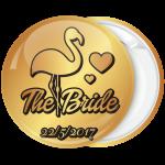 Kονκάρδα bachelorette The Bride φλαμίνγκο χρυσή κολεξιόν