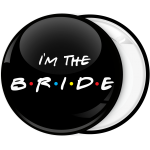 Κονκάρδα I am the bride friends edition μαύρη