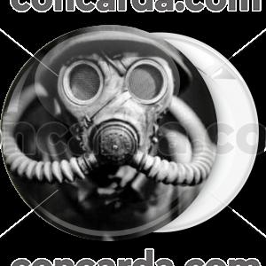 Κονκάρδα gas warfare chemical mask