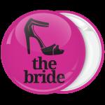 Κονκάρδα bachelor νύφης με σχέδιο γυναικείο πέδιλο