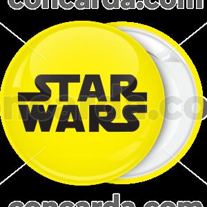 Κονκάρδα Star Wars funs κίτρινη