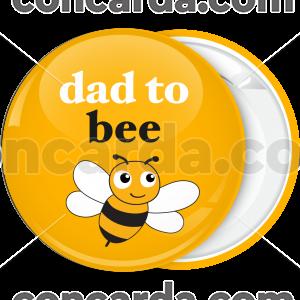 Κονκάρδα dad to bee κίτρινη