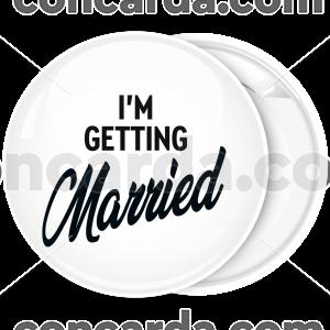 Kονκάρδα γάμου I am getting Married
