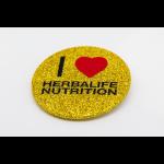 Κονκάρδα Glitter Herbalife Χρυσή