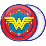 Κονκάρδα Wonder Woman logo