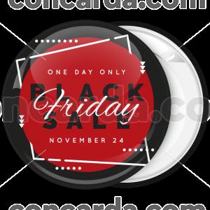Κονκάρδα Black Friday modern red