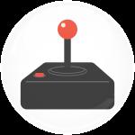 Κονκάρδα pacman joystick
