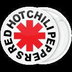 Κονκάρδα Red Hot Chili Peppers λευκή