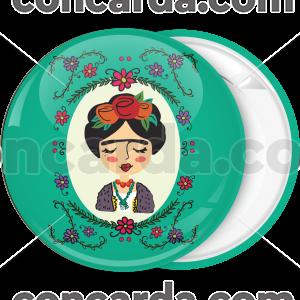Κονκάρδα Φρίντα Κάλο λουλούδια πράσινη