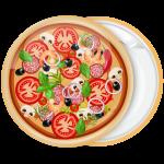 Κονκάρδα Pizza Mediterranean