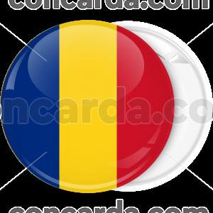 Κονκάρδα σημαία Ρουμανίας