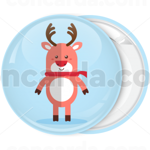 Κονκάρδα Χριστουγεννιάτικα στοιχεία Τάρανδος