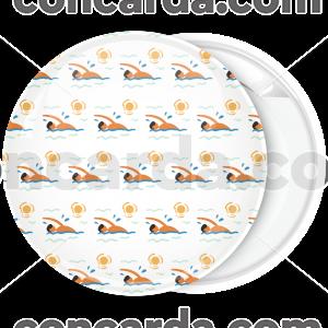 Καλοκαιρινή κονκάρδα κολύμπι