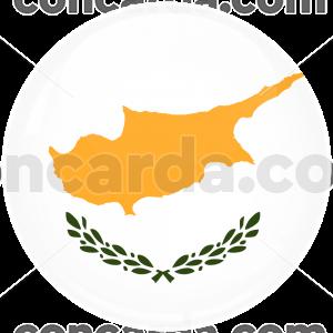 Κονκάρδα σημαία Κύπρου