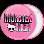 Κονκάρδα Monster High logo ροζ