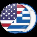 Κονκάρδα σημαία Ελλάδα Αμερική