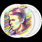 Κονκάρδα David Bowie face art