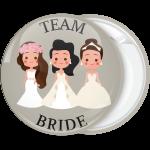 Κονκάρδα γάμου Team Bride the friends γκρι