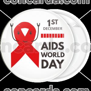 Κονκάρδα World Aids Day cartoon