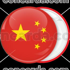 Κονκάρδα σημαία Κίνας