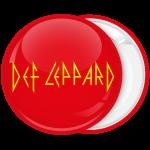 Rock κόκκινη κονκάρδα Def Leppard