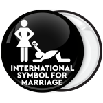 Κονκάρδα για bachelor γαμπρού International Symbol for marriage