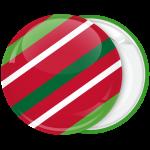 Κονκάρδα Χριστουγεννιάτικη μπάλα γιορτινά χρώματα