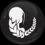 Κονκάρδα Ζώδια Παρθένος black collection