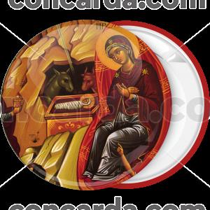 Κονκάρδα Η Γέννηση του Κυρίου Ιησού Χριστού κόκκινο