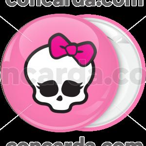 Κονκάρδα Monster High head logo ροζ