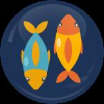 Κονκάρδα Ζώδια Ιχθείς blue collection