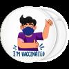 Κονκάρδα I am vaccinated