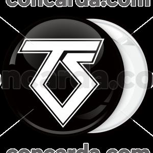 Κονκάρδα Twisted Sister logo